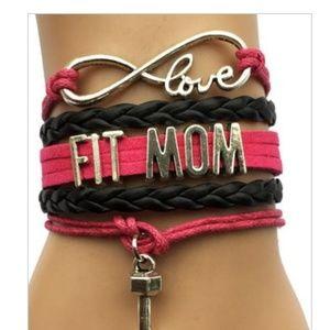 Jewelry - ⛄️Infinity love fit mom wrap bracelet⛄️ 2/$10